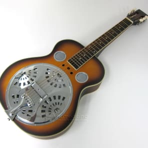 Mudslide Square Neck Resonator Guitar w/ Hard Case for sale