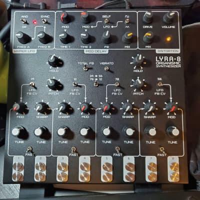 Soma Laboratory Lyra-8 Organismic Synthesizer (Black Beast) w/dust cover