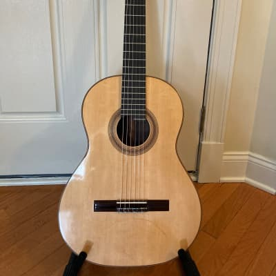 Lubos Naprstek, Luthier  Double Top Classical Guitar  2020 French polish for sale