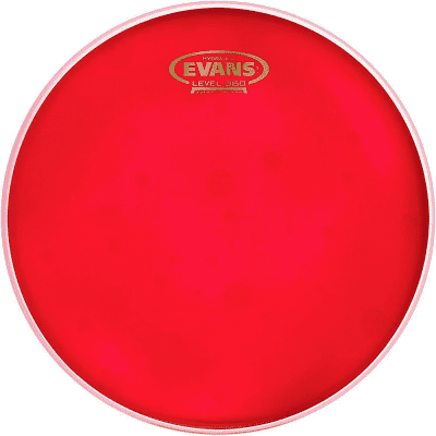 Evans TT08HR Hydraulic Red Drum Head - 8""