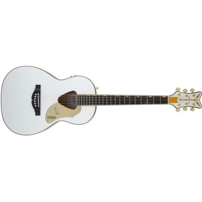 Gretsch G5021WPE Rancher Penguin Parlour Electro Acoustic, White for sale