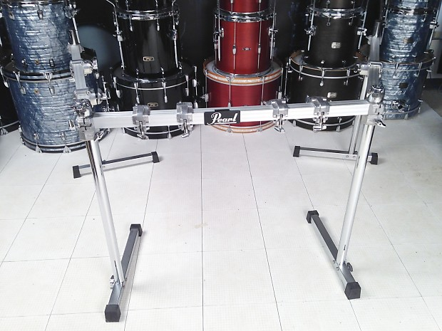 used pearl icon 3 sided drum rack system reverb. Black Bedroom Furniture Sets. Home Design Ideas