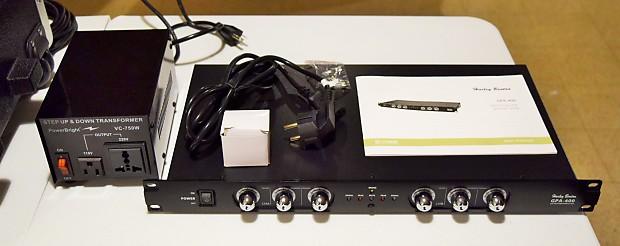 Harley Benton GPA-400 Amp and Power Converter | Matthew