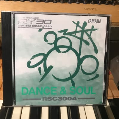 "Yamaha RSC3004 ""Dance & Soul"" cartridge for the RY30 - 1990's"
