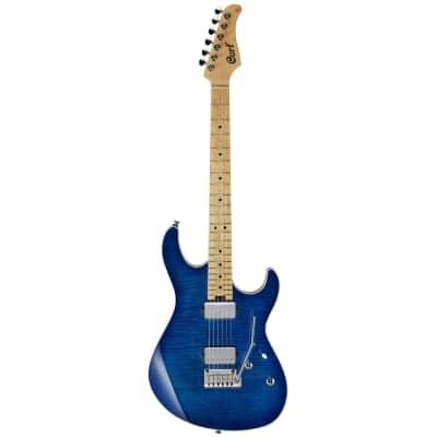 Cort G290 FAT Bright Blue Burst Finish Electric Guitar