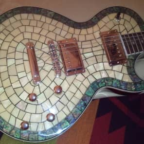 Alden Bluesline Abalone Pearl Shell electric guitar (Zemaitis/Zematis) VERY RARE!! for sale