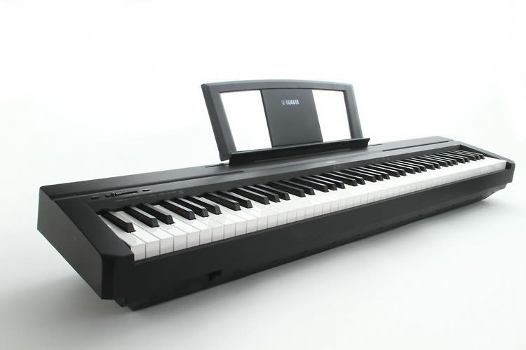 yamaha p45b 88 key digital piano damm music reverb. Black Bedroom Furniture Sets. Home Design Ideas