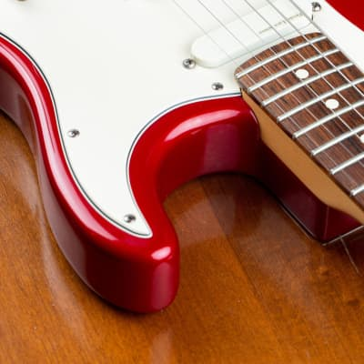1992 Fender Strat Plus Stratocaster Plus Frost Red for sale