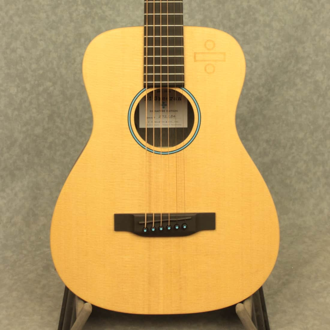 martin ed sheeran signature edition acoustic guitar with reverb. Black Bedroom Furniture Sets. Home Design Ideas