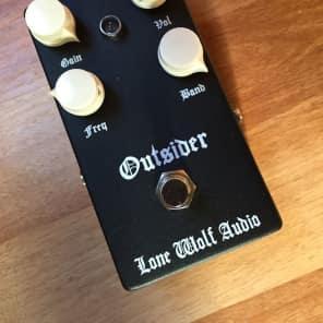NEW! Lone Wolf Audio Outsider - Lead Boost Sub Harmonic Energizer Black FREE SHIPPING!
