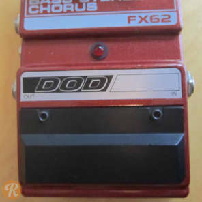 DOD Bass Stereo Chorus FX62 1987