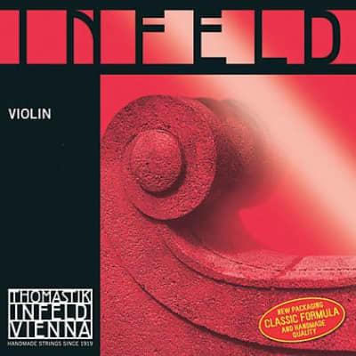 Thomastik-Infeld IR01 Infeld Red Gold-Plated Stainless Steel 4/4 Violin String - A (Medium)
