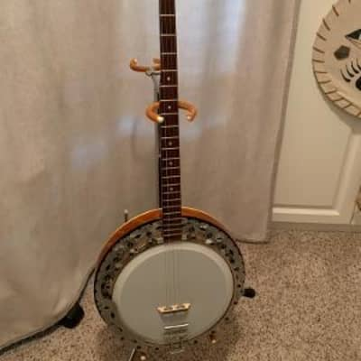 Re-worked Framus   5 - string banjo, 1972, Natural