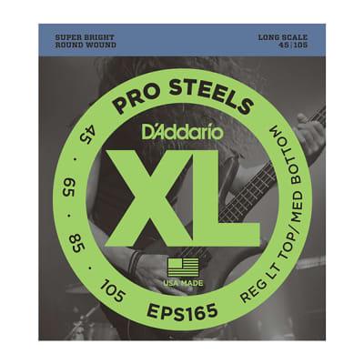 Daddario 45-105 Long Pro Steels Set Bass