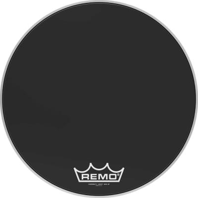 "22"" Powermax 2 Ebony marching bass drum head"