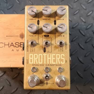 Chase Bliss Audio Brothers Analog Gain Stage Overdrive Boost Preamp
