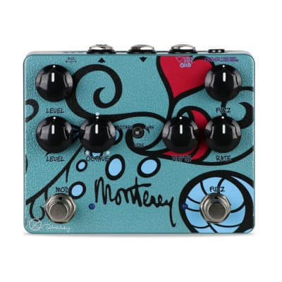 Keeley Monterey Rotary Fuzz Vibe Octave Guitar Effect Pedal