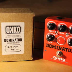 OKKO Pedals Dominator MKII Pre-owned for sale