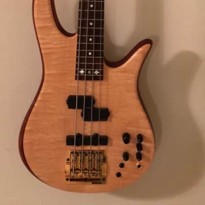 Fodera Victor Wooten Monarch Classic flame maple for sale