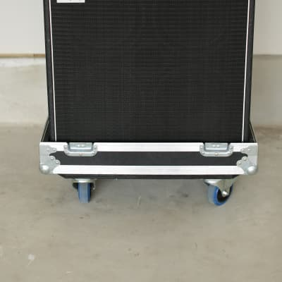Ampeg SVT-CL Amp Head and 4x10 Cabinet with Road Cases