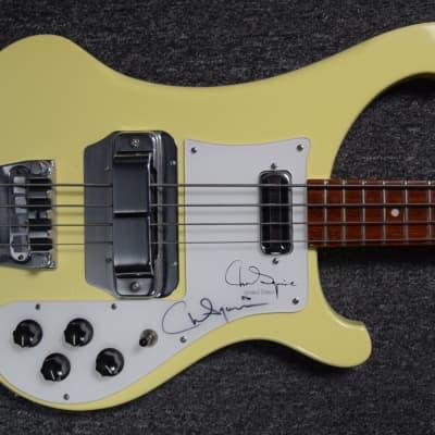 Rickenbacker 4001CS LTD Chris Squire Signature Model ***AUTOGRAPHED BY CHRIS SQUIRE !