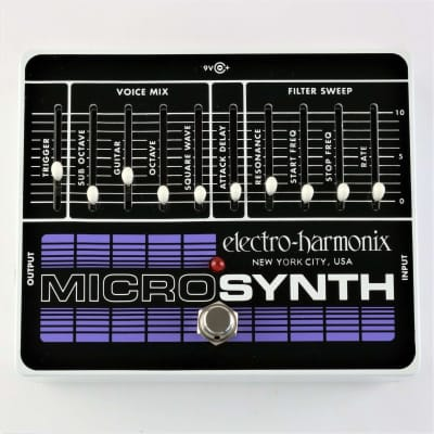 ELECTRO HARMONIX GUITAR MICROSYNTH MICRO SYNTHESIZER for sale