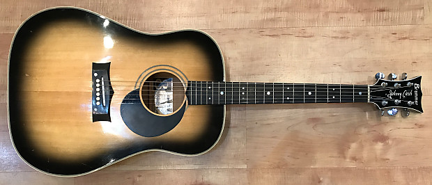 vintage grammer johnny cash signature g50 model acoustic