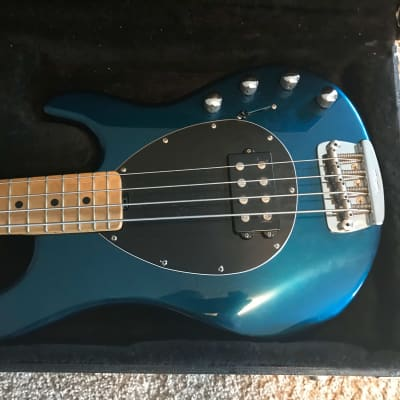Ernie Ball Music Man Sterling 4 H Late 90's Vintage Blue Pearl