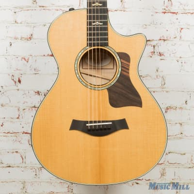 Taylor 612ce 12-Fret Acoustic Electric Guitar Natural (USED) for sale