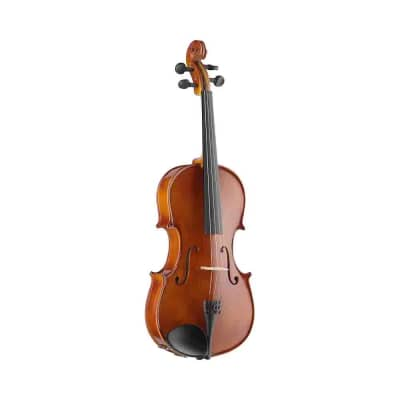 """Stagg 16"""" solid maple viola w/ standard-shaped soft case"""