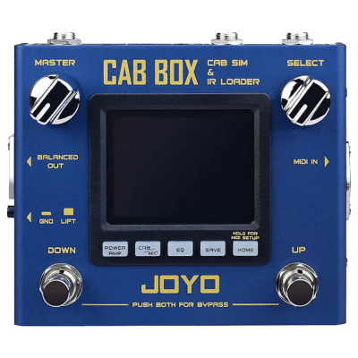JOYO R-08 Cab Box Modelling and IR Cab Loader Guitar/ Bass Effects Pedal New for sale