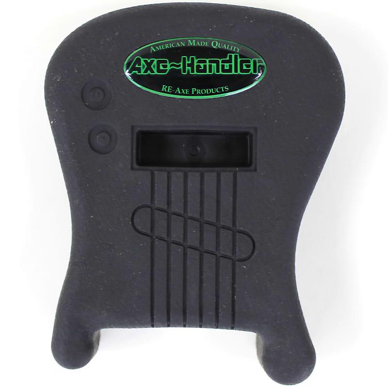 New Axe-Handler S/I Portable Guitar Stand w/ Pick Holder, Strings In, Black