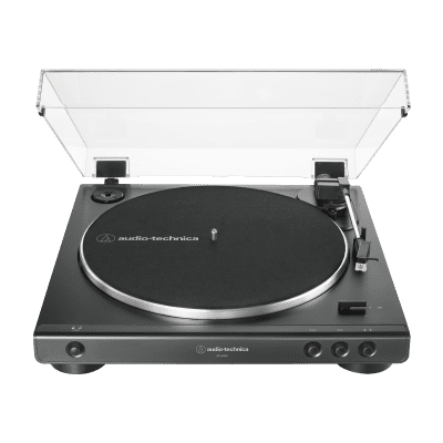 Audio-Technica AT-LP60X Fully Automatic Belt-Drive Turntable Black