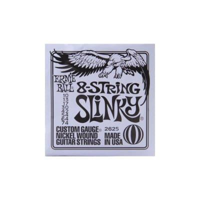 Ernie Ball Regular Slinky 2625 8 Strings Slinkt 10-74