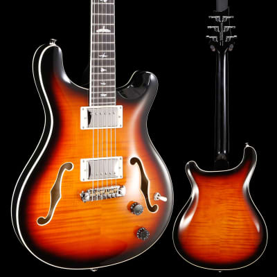PRS Paul Reed Smith SE Hollowbody II, Tri-Color Sunburst 192 6lbs 1.7oz for sale