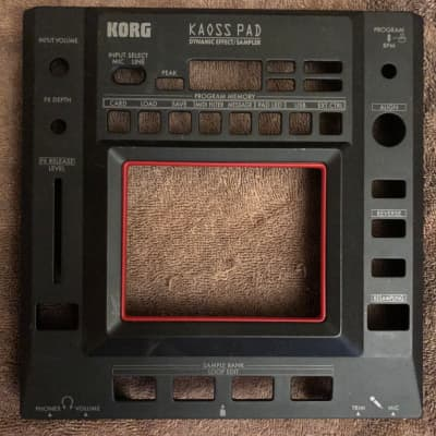 Korg Kaoss Pad 3 KP3/KP3+ Replacement Chassis  2000s Black