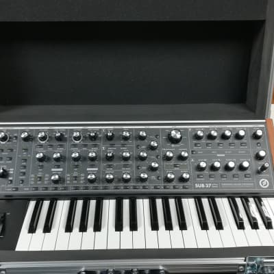 Moog Sub 37 Tribute Edition with ATA Road Case