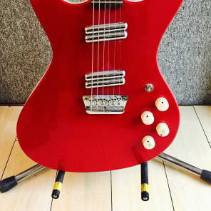 Danelectro Hodad Red Metallic