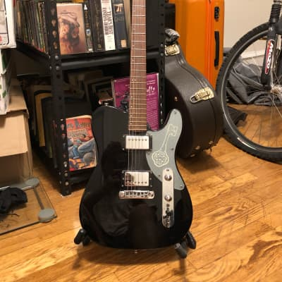 Custom Telecaster Deluxe style Black/Honeycomb Pearl