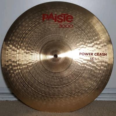"Paiste 16"" 3000 Power Crash Cymbal"