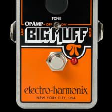 Electro-Harmonix Op Amp OpAmp Big Muff Pi Fuzz Guitar Effects Pedal 2017
