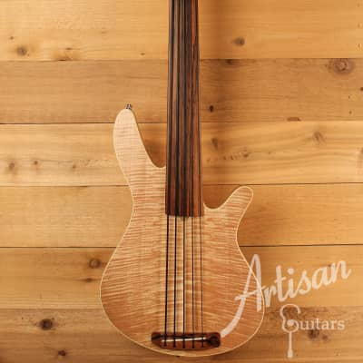 Rob Allen MB2 Fretless Bass Guitar w/ Natural Finish Pre-Owned 2003 for sale