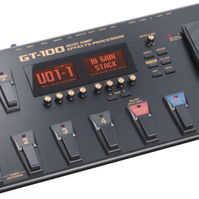 Boss GT100 Multi-Effects Guitar Effect Pedal