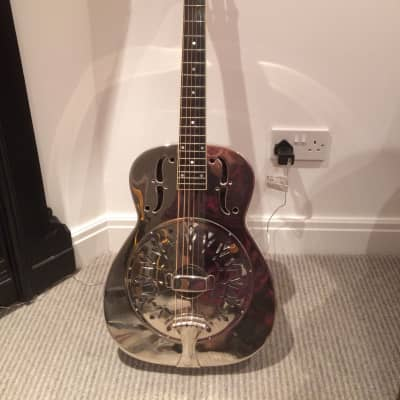 BELTONA Style 0 Resonator 1997 BRASS / SILVER PLATE for sale