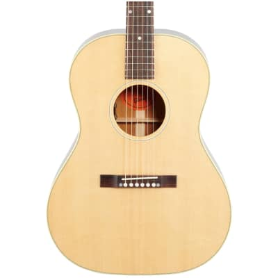 Gibson '50s LG-2 Original Acoustic-Electric Guitar (with Case), Antique Natural, Blemished
