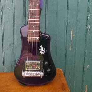 Hofner CT Series Shorty Travel/Mini Guitar Purple