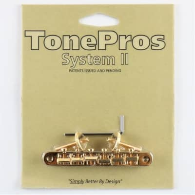 TONEPROS ABR-1 REPLACEMENT TUNE-O-MATIC GOLD