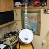 Lyle 5 string Banjo ? Antique Brown for sale