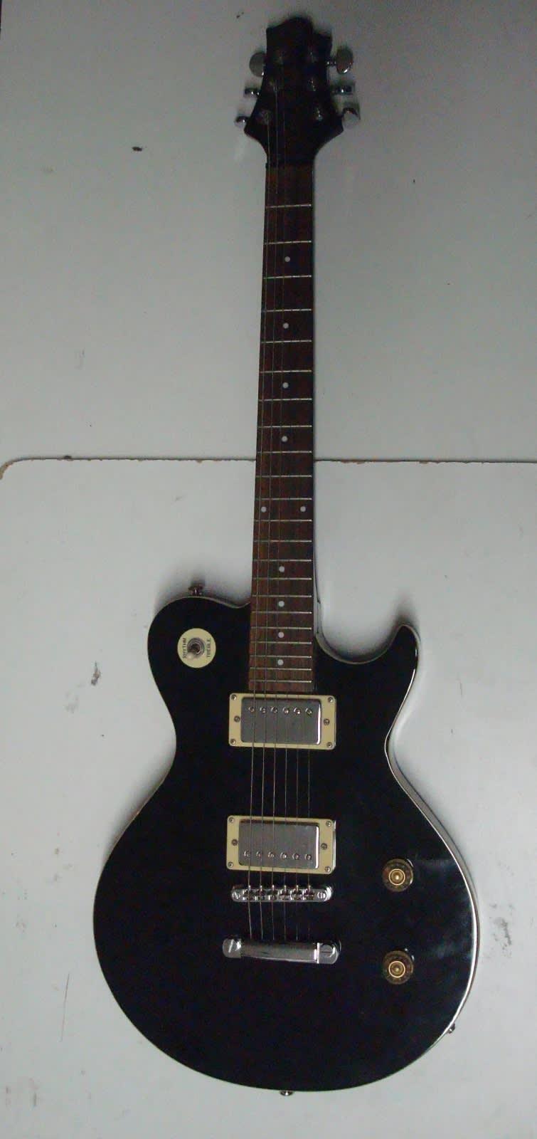greg bennett av1 black signature series electric guitar reverb. Black Bedroom Furniture Sets. Home Design Ideas