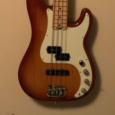 Fender American Elite Precision Bass 2019 Tobacco Burst for sale